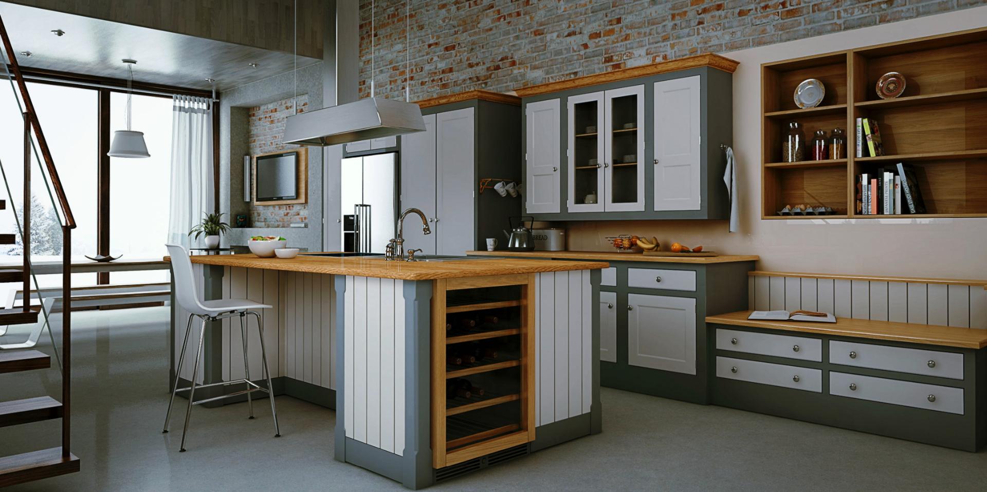 SU Podium kitchen render